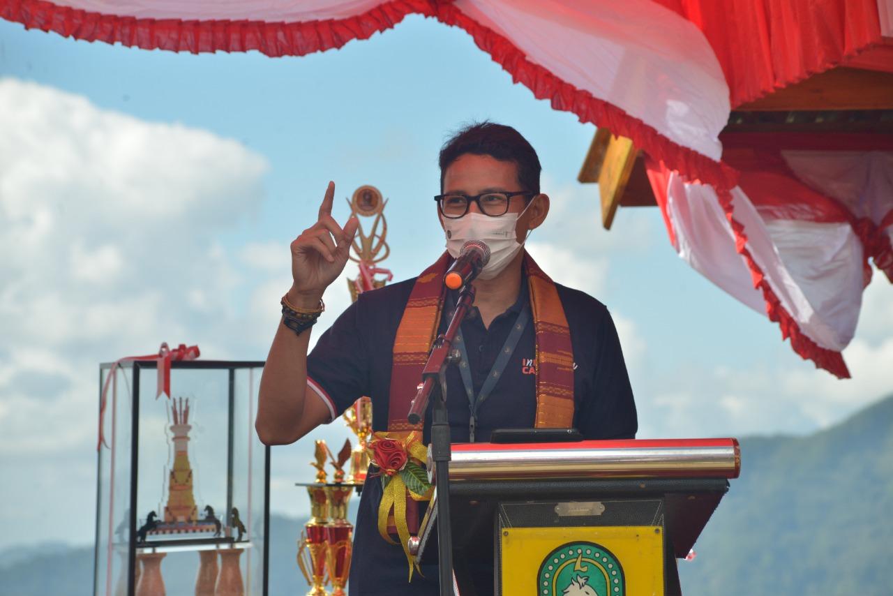 Menteri Sandiaga Uno Akan Petakan Bantuan Yang Cocok Untuk Wisata di Sinjai