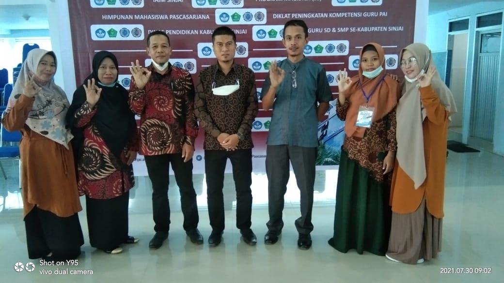 Ketua GPAII Sinjai Dukung dan Apresiasi Diklat Guru PAI IAIM Sinjai