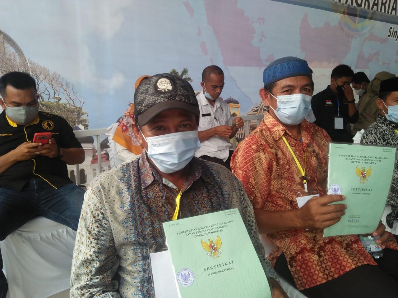 Urus Sertifikat Tanah Tidak Ribet, Warga Ini Akui Pelayanan Publik Pemda Sinjai
