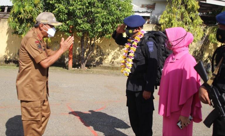 Selesaikan Misi di Papua, Pemda Bone Sambut Kepulangan Personil Batalyon C